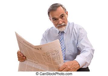 gazeta, czytanie