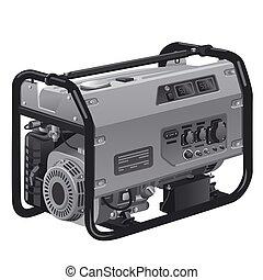 generator, moc