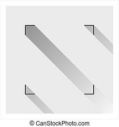 geometryczny, ikona, skwer