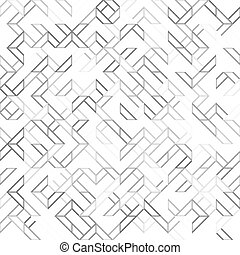 geometryczny, pattern., seamless