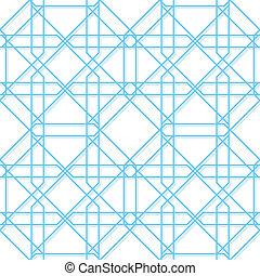 geometryczny, wektor, seamless, struktura