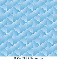 geometryczny wzór, wektor, rectangles., ilustracja, błękitny
