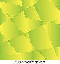 geometryczny, zielony, struktura, tło