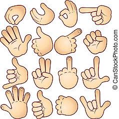 gesty, siła robocza
