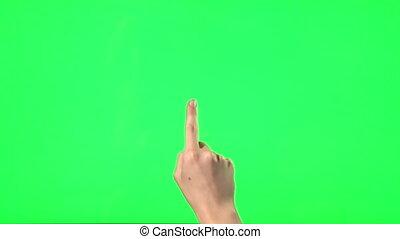 gesty, touchscreen, -, 21, samica