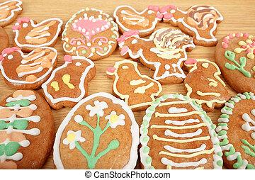 gingerbreads, wielkanoc, zbiór