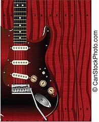 gitara, drewno, jakość