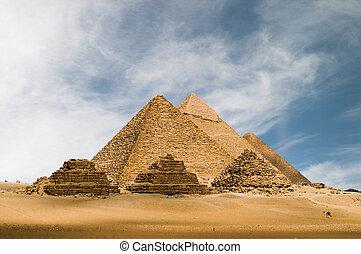 gizeh, piramidy
