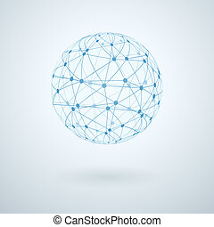 globalna sieć, ikona
