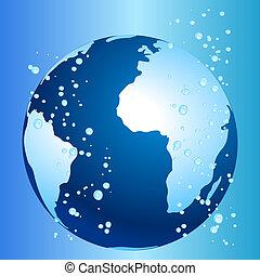 globalny, klimat, pojęcie, ocieplać, zmiana