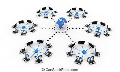 globalny, komputerowa sieć