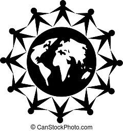 globalny, ludzie