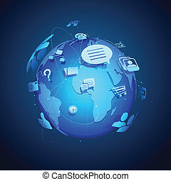 globalny, tworzenie sieci