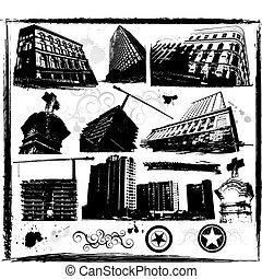 gmach, miasto, architektura, miejski