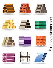 gmach, &, zbudowania, materiały