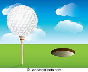 golf, tło