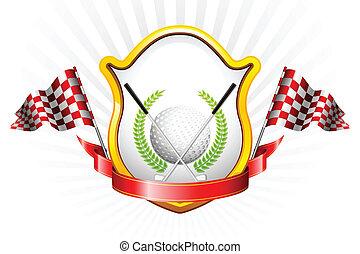 golf, trofeum