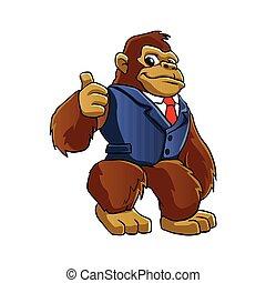 goryl, suit.
