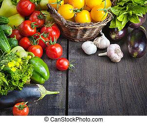 gospodarczy świeży, warzywa, owoce