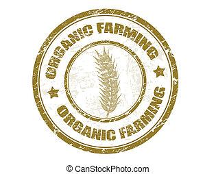 gospodarka, tłoczyć, organiczny