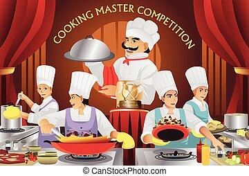 gotowanie, pan, współzawodnictwo