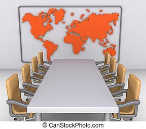gotowy, początek, spotkanie