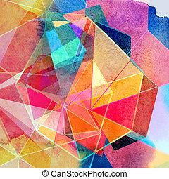 graficzny, tło, abstrakcyjny