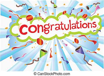 gratulacje, sformułowanie