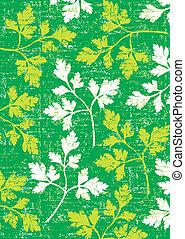 green., pietruszka, tło