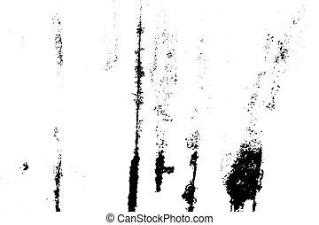 grunge, abstrakcyjny, tło., wektor, brudny, texture., powierzchnia