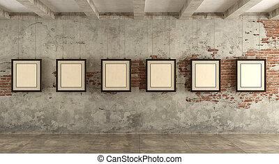 grunge, sztuka galeria