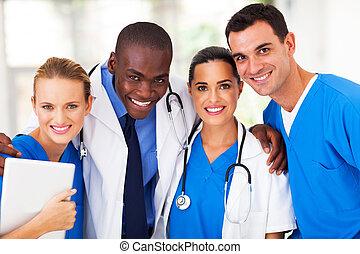 grupa, drużyna, profesjonalny, medyczny