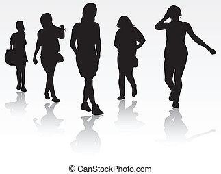 grupa, kobiety