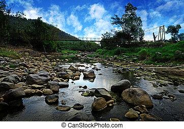 gryzący, rzeka