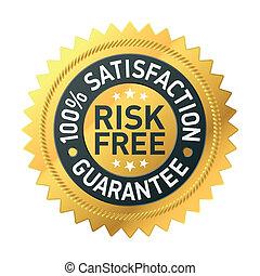 gwarantować, risk-free, etykieta