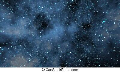 gwiazda, przelotny, przez, pole