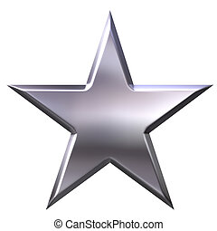 gwiazda, srebro