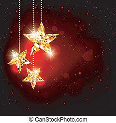gwiazda, wielobok, boże narodzenie, tło