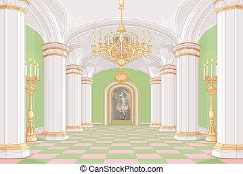 hala, pałac