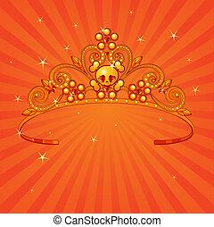 halloween, księżna, korona