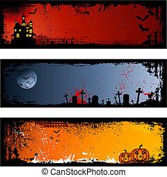 halloween, tła