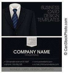 handlowa karta, smoking, łuk, elegancki, garnitur, krawat