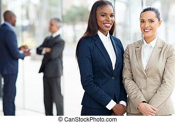 handlowe biuro, kobiety