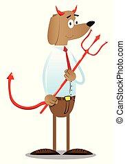 handlowy, przysmażać psa, pitchfork.