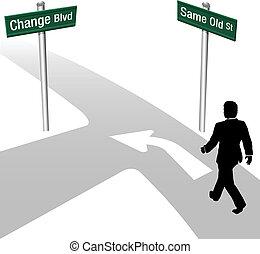 handlowy, tak samo, postanowienie, albo, zmiana, człowiek