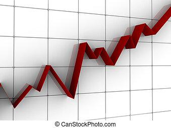 handlowy, wykres