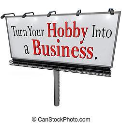 handlowy znaczą, obrót, tablica ogłoszeń, hobby, twój