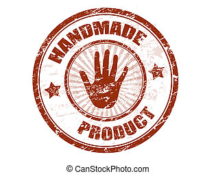 handmade, produkt, tłoczyć