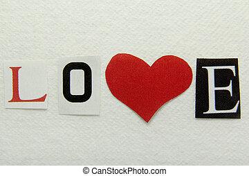 handmade, wypowiedzieć papier, miłość, tło