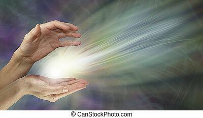 healer, energia, gojenie, przesyłka